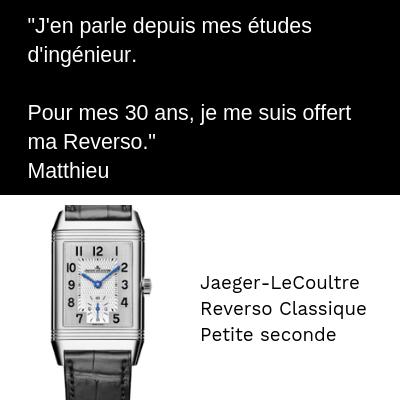 Jaeger-LeCoultre Reverso Classique Polo Art deco fin d'études