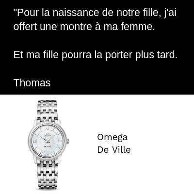 Omega De Ville Femme Naissance